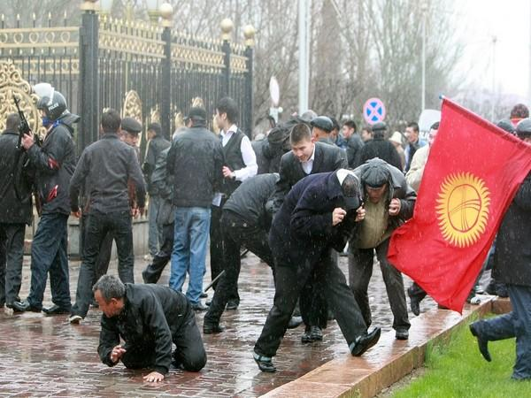 Violent protests in Kyrgyzstan after annulment of parliamentary elections (ANI)