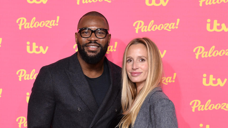 Ugo Monye and his wife, Lucy, have split after five years. (Jeff Spicer/Getty Images)