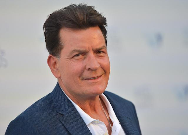 Charlie Sheen on August 18, 2018 in Hollywood, California.