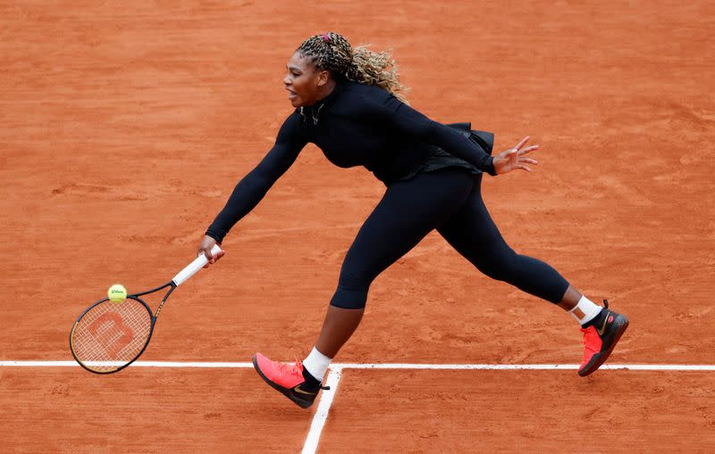 Serena digs deep to find way past Ahn into second round