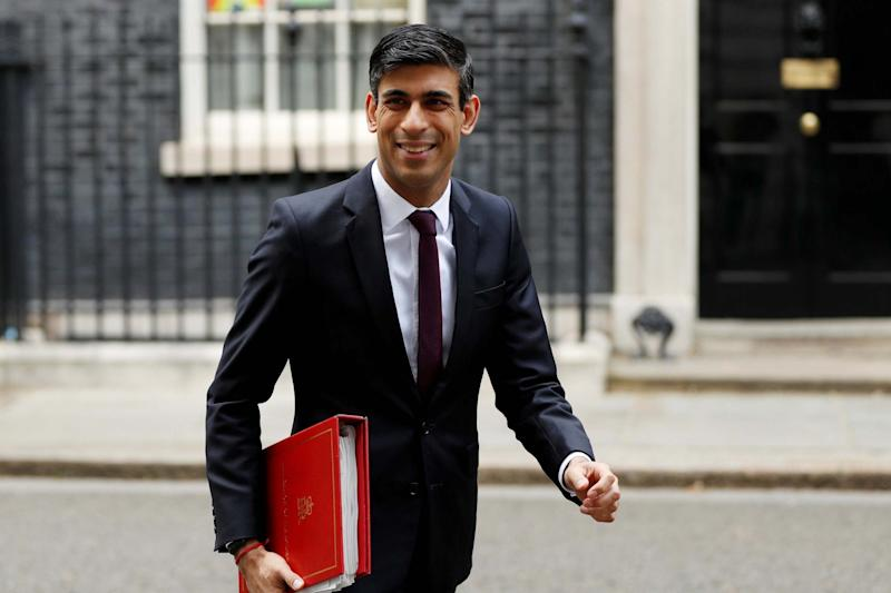 Chancellor of the Exchequer Rishi Sunak leaves Downing Street: REUTERS