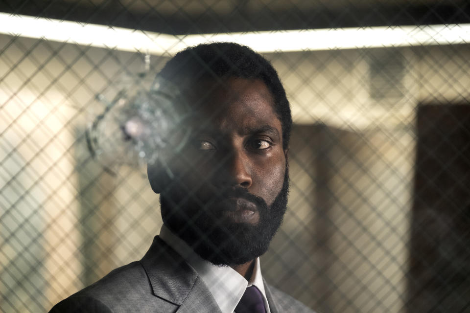 John David Washington in <i>Tenet</i>. (Warner Bros.)