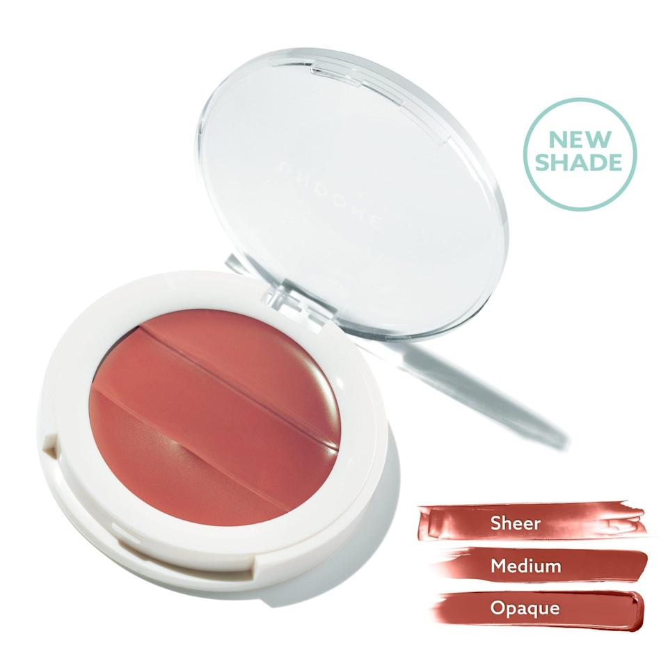"<p>The clean, vegan makeup brand Undone Beauty has partnered with <a href=""https://www.theprojectheal.org/"" class=""link rapid-noclick-resp"" rel=""nofollow noopener"" target=""_blank"" data-ylk=""slk:Project Heal"">Project Heal</a> to donate 100 percent of profits made from <span>Lip to Cheek 3-in-1 Cream Palette</span> ($14) sales to the organization. Project Heal helps fight the systemic and financial barriers associated with treatment for eating disorders.</p>"