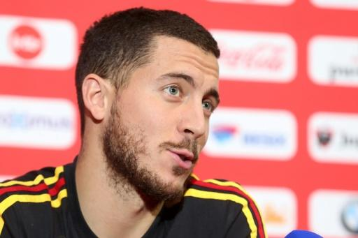 Eden Hazard is one of the most recognisable faces as Belgium prepares for the World Cup