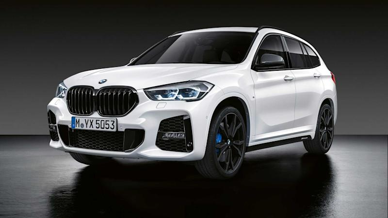 2020 BMW X1 with M Performance parts