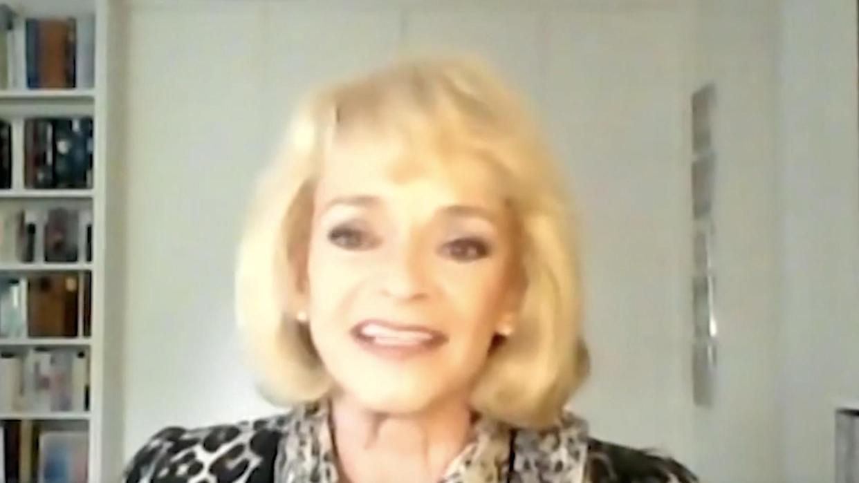<p>Sue Holderness, who played Marlene in Only Fools and Horses, surprised viewers at home when she used her real posh voice on Friday's show.</p>