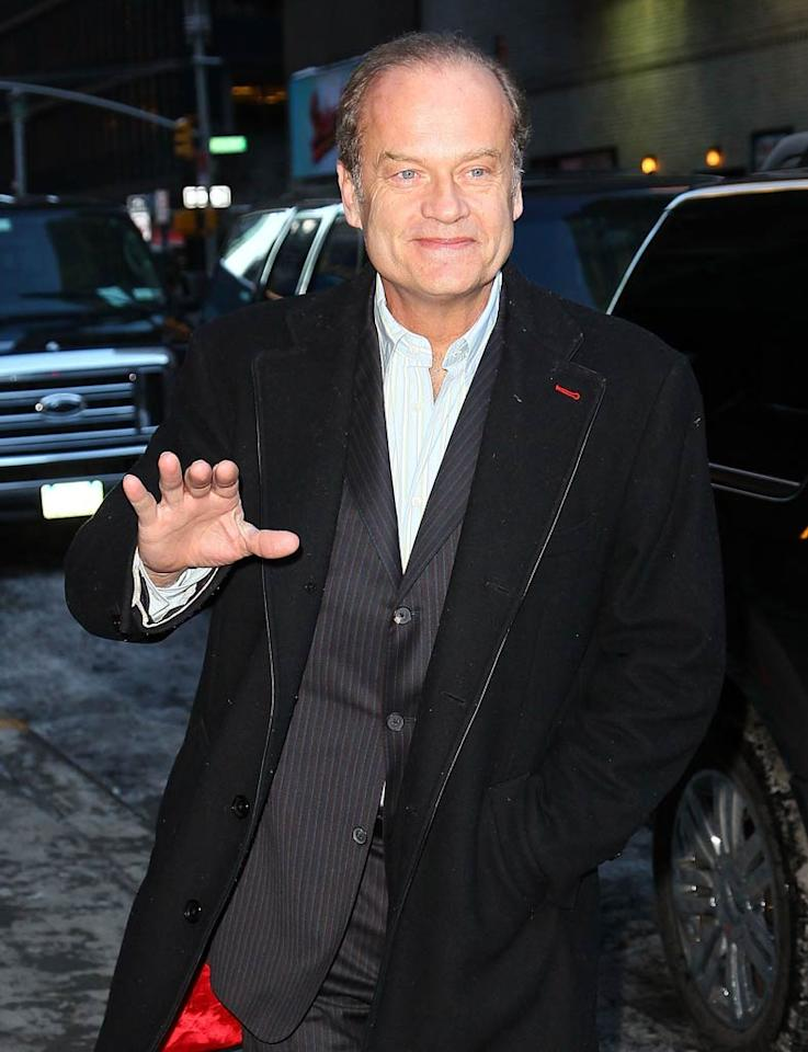 """""""Kelsey Grammer Invites Camille To His Wedding,"""" reads the headline of a Perez Hilton story. According to the blogger, """"Sources close to Camille Grammer say that the 'Real Housewives' star has received an invitation to attend [her] ex's upcoming wedding. This is not, however, an attempt to bury the hatchet."""" For what possessed the """"Frasier"""" star to invite his ex to his wedding to another woman, read what Grammer's rep exclusively explains to <a href="""" http://www.gossipcop.com/kelsey-grammer-invite-camille-wedding-invitation-kayte-walsh/"""" target=""""new"""">Gossip Cop</a>. Jeffrey Ufberg/<a href=""""http://www.wireimage.com"""" target=""""new"""">WireImage.com</a> - January 13, 2011"""