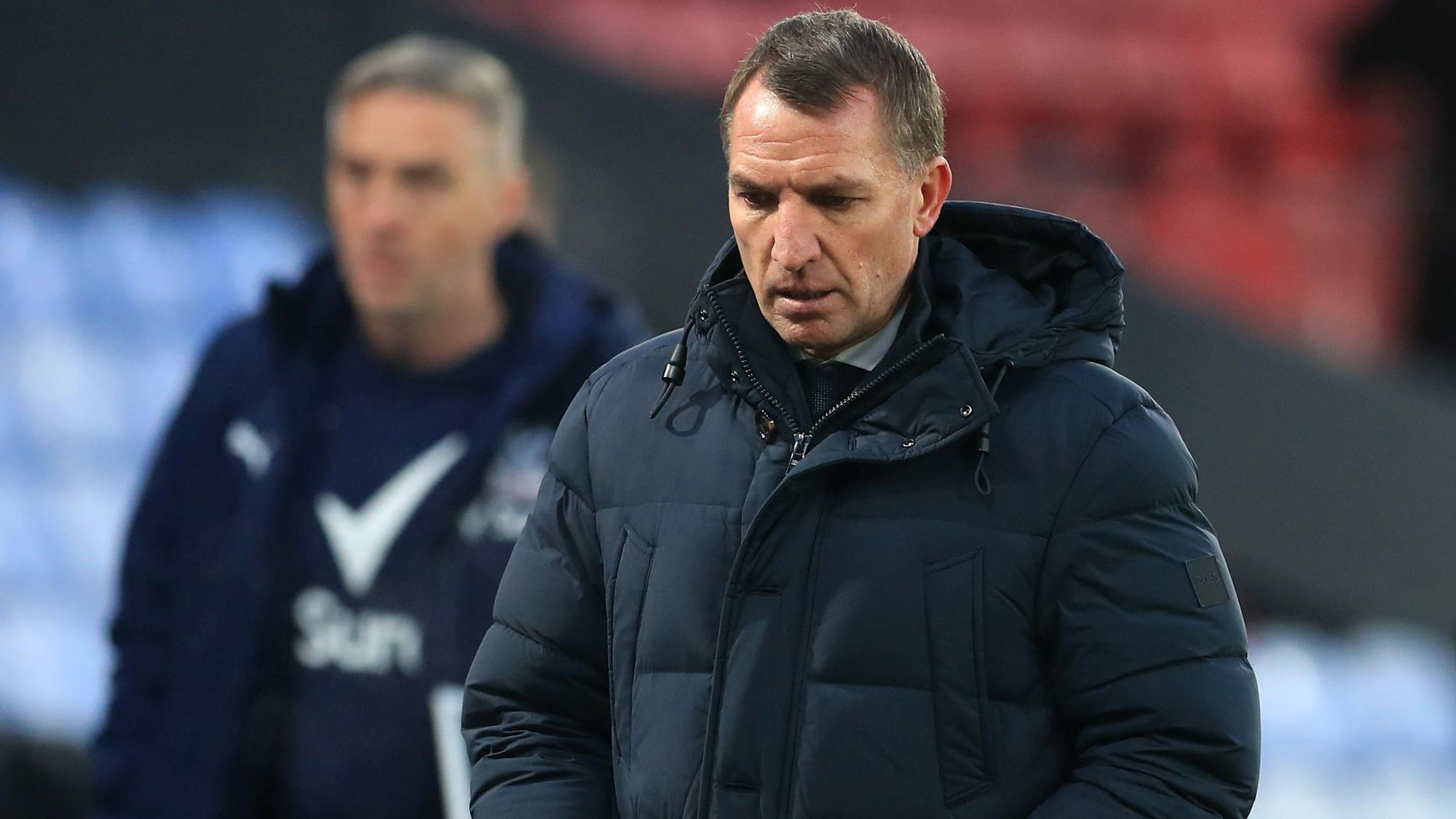 Brendan Rodgers calls for better Leicester performance in Everton rematch