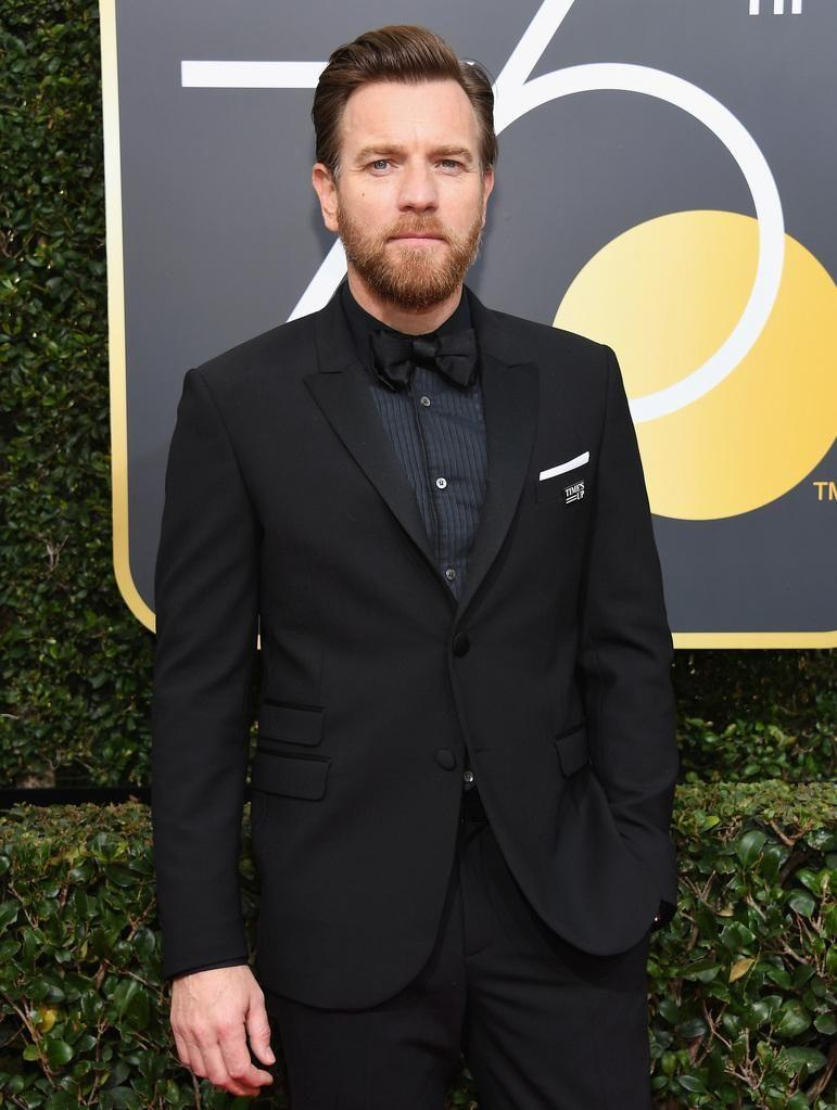 Ewan McGregor arrives for the 75th Golden Globe Awards on January 7, 2018, in Beverly Hills. Source: Getty