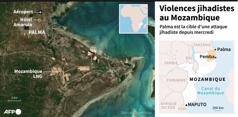 Violences jihadistes au Mozambique