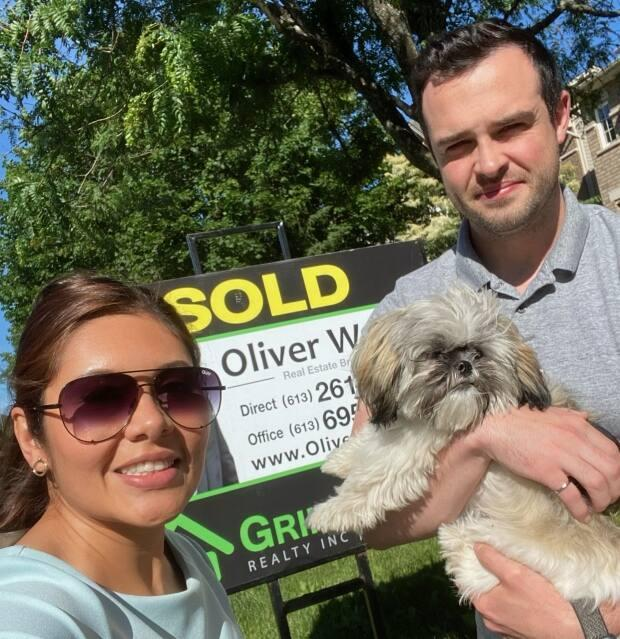 Josh and his wife Marcela bought their second home in Ottawa recently after looking to buy since 2019. (Josh Flynn - image credit)
