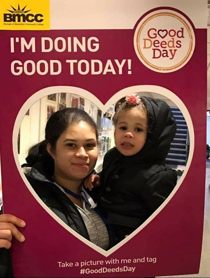 """Marleny Hernandez hopes her children will understand what she went through to become a nurse, and remember to """"never give up."""""""