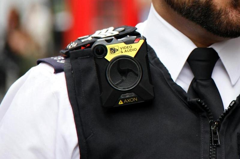 Huge roll-out: 21,000 officers have been issued with body-worn cameras: Metropolitan Police