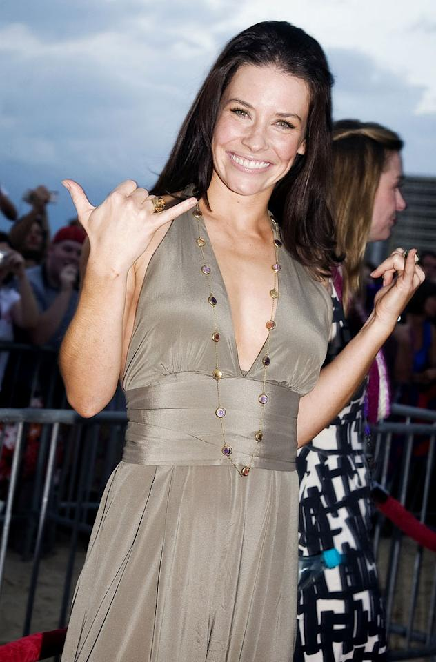 """<a href=""""/evangeline-lilly/contributor/1256848"""">Evangeline Lilly</a>, who plays Kate, would seem to agree. """"I don't think Kate can end up with either [Jack or Sawyer], frankly,"""" she said. """"I just think that she's been there, done that. She's tried it, it didn't work. She's got Aaron in her life, she's got Claire to get home to him. I think that a clean slate would be beneficial to her."""""""