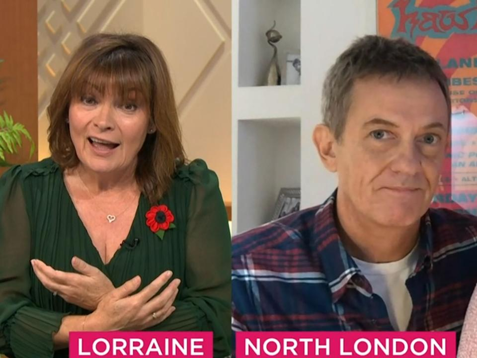 Matthew Wright opened up about his stalker ordeal on 'Lorraine'Rex Features