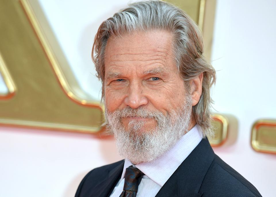 Jeff Bridges attends the 'Kingsman: The Golden Circle' World Premiere on Sept. 18, 2017 in London. (Photo: Anthony Harvey via Getty Images)