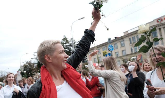 Belarus opposition leader Maria Kolesnikova 'kidnapped and threatened with mutilation'