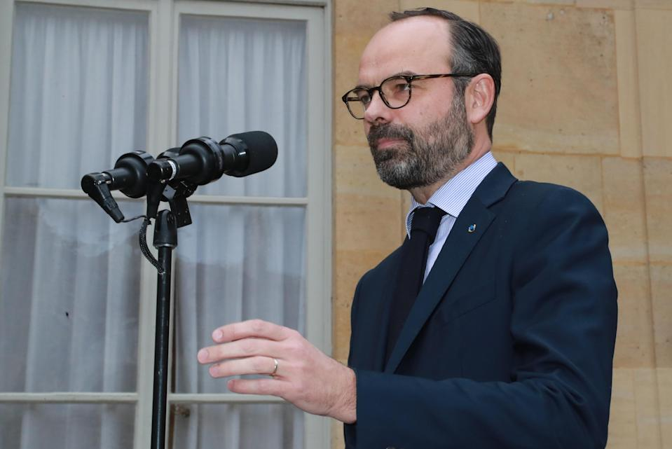 French prime minister Edouard Philippe said his government has activated plans for handling the effects of a no-deal Brexit. Photo: Jacques Demarthon/Getty Images