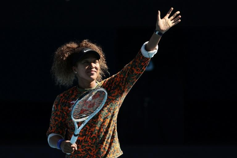 Olympic dream for Japan's Naomi Osaka pictured in Melbourne on Sunday