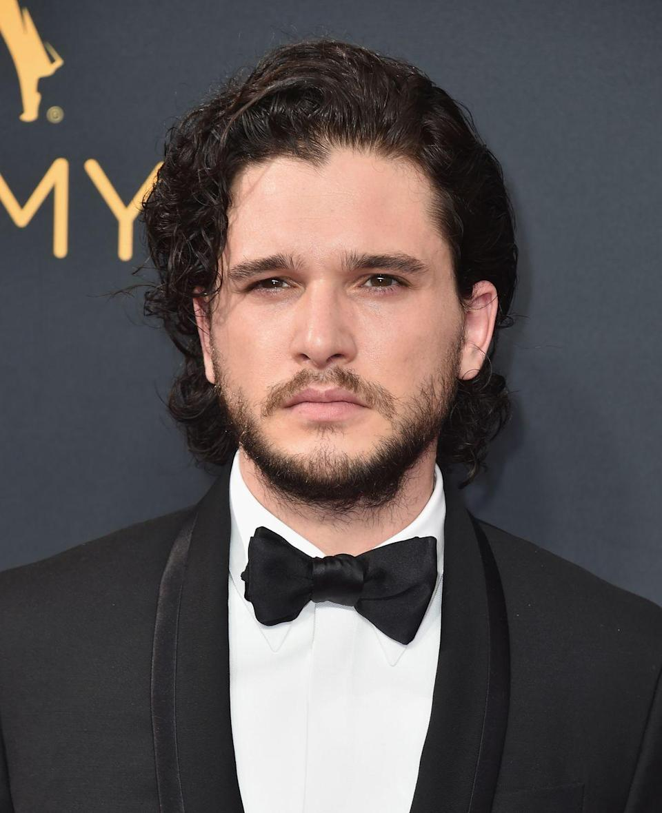 """<p><strong>Real name: </strong>Christopher Catesby Harington</p><p>Amazingly, Kit didn't actually know his real name until he was 11, telling <a href=""""http://www.glamour.com/entertainment/blogs/obsessed/2014/06/kit-harington-interview.html"""" rel=""""nofollow noopener"""" target=""""_blank"""" data-ylk=""""slk:Glamour"""" class=""""link rapid-noclick-resp"""">Glamour</a>: """"I think [my parents] could see that I wanted to be Kit, but Christopher was a bit of a tradition. My brother's name is Jack, but his real name is John. Kit is traditionally an offshoot of Christopher, it's just not used that often. My middle name is Catesby.""""</p>"""