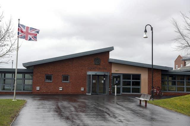 Military Court Centre, Bulford Barracks in Salisbury, Wiltshire, where Major General Nick Welch was sentenced
