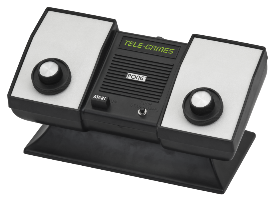 "<p>Atari's arcade game <em>Pong</em> (essentially Table Tennis) was popular enough to spawn several at-home controllers, including Sears' imitator and several others. Both controllers were simply built into the machine and sold as ""Pong systems"" that people could purchase and enjoy at home, like bringing the arcade to them. This spurred on a lawsuit from Magnavox in an attempt to quell companies looking to capitalize on the tech. </p>"