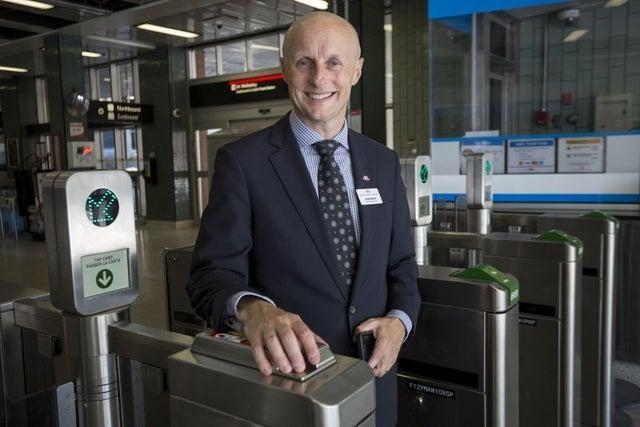 <p>TfL commissioner Andy Byford: 'madness' to stop Crossrail in its tracks</p> (Jeremy Selwyn Evening Standard)