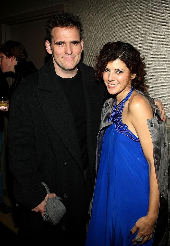 "Matt Dillon and Marisa Tomei have been BFFs ever since the actress made her big screen debut alongside the heartthrob in 1984's ""The Flamingo Kid."" Stephen Lovekin/<a href=""http://www.gettyimages.com/"" target=""new"">GettyImages.com</a> - December 8, 2008"