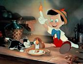 """<p>Pinocchio's journey to becoming a """"real boy"""" is one of the most sacred in Disney's vault. Its themes about honesty and decency trumping all still ring true today. Am I the only one who thinks a physical indicator to tell if someone was lying would greatly benefit society? </p> <p><a href=""""https://cna.st/affiliate-link/NdFgiDhcJZd5E48XzkMwttEiGfJpyyKT2brfNX2kL3QLfqbVQA6s5ZibcrNGAxUX8Dy1CkoFZ8EJyViZ4SgxhPBdyU6c36MZ2umPxDki9fTcMi2HeE2nynhhrbPxwfqdZnsEREkcZcUzdzefPL2dLNeqQpcHqPbz7?cid=5e864a29d9989e0008a9db91"""" rel=""""nofollow noopener"""" target=""""_blank"""" data-ylk=""""slk:Available on Disney+"""" class=""""link rapid-noclick-resp""""><em>Available on Disney+</em></a></p>"""