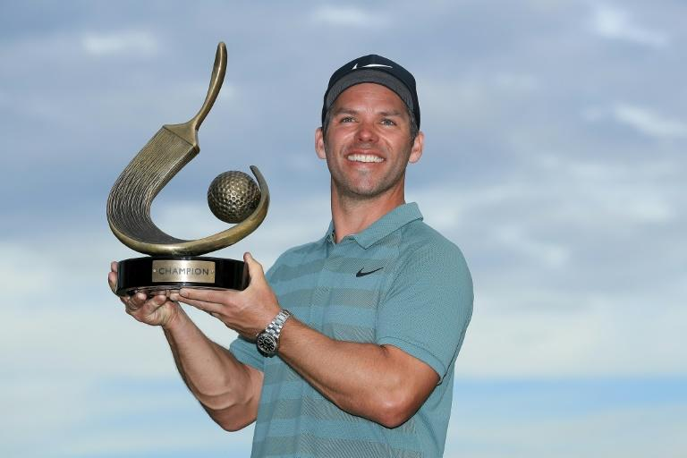 Casey beat Tiger Woods into second place to win the Valspar Championship
