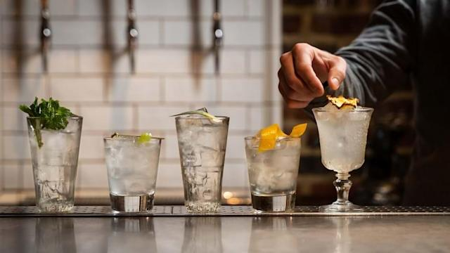 "Burger & Lobster rolls out ""gender-neutral"" cocktails that are colorless and nameless. (Photo: Burger & Lobster)"