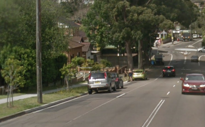The teen had finished her shift on this street in Hurstville Grove. Source: Google Maps