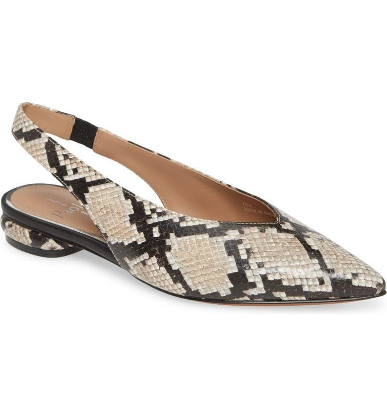 <p>These <span>Linea Paolo Paula Slingback Flats</span> ($120-$130) feature a cushioned insole, perfect for all-day wear.</p>