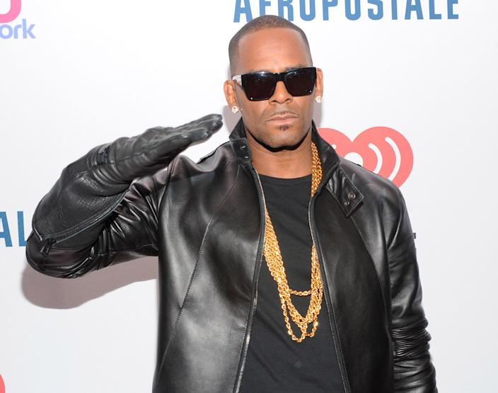 R Kelly attends at Madison Square Garden in New York City in 2013. (Photo: RTNJon Palmer/MediaPunch Inc. /IPX via AP)