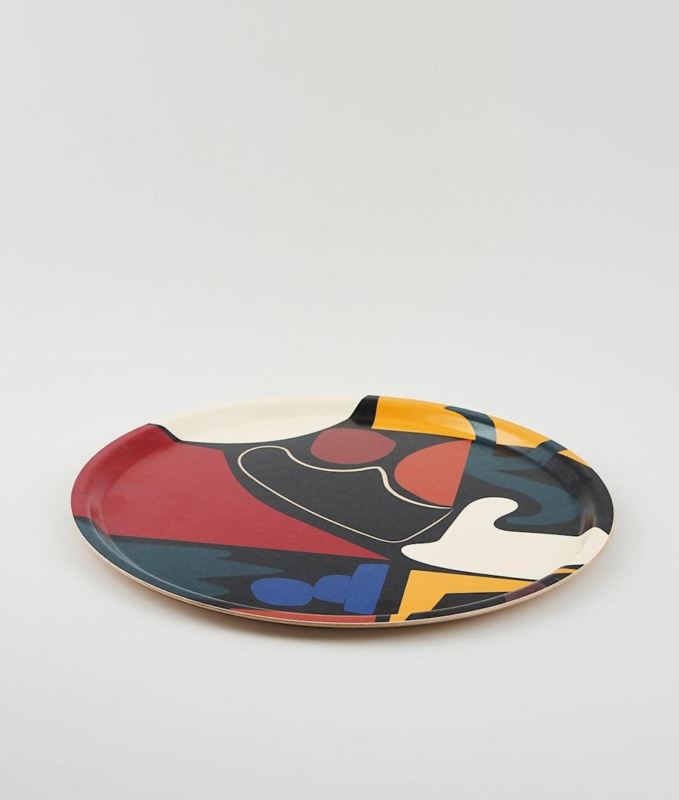 """<strong>Under £50</strong><br><br>I love the art trays that Wrap magazine produces in collaboration with designers – the shapes motif on this round tray, designed by Mexican artist Alejandra Garcia Y Gutierrez, is my favourite.<br><br><strong>Wrap Magazine</strong> Art Tray, $, available at <a href=""""https://www.wrapmagazine.com/shop/shapes-round-art-tray"""" rel=""""nofollow noopener"""" target=""""_blank"""" data-ylk=""""slk:Wrap Magazine"""" class=""""link rapid-noclick-resp"""">Wrap Magazine</a>"""