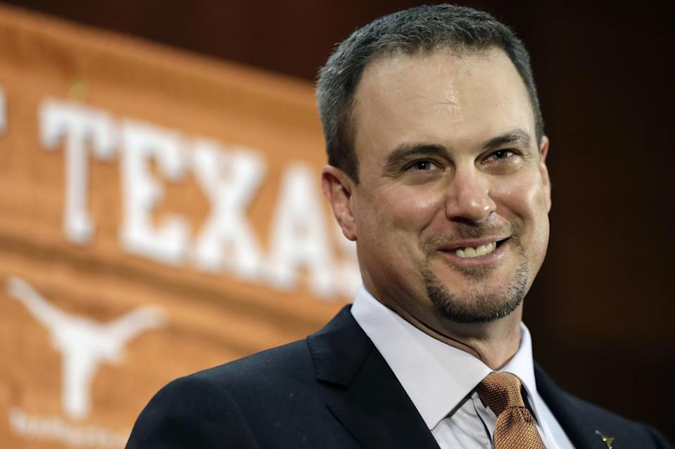 Texas hired Tom Herman away from Houston. (AP)