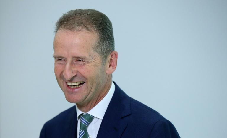 VW CEO Herbert Diess believes Germany should phase out low taxation of diesel to encourage consumers to buy electric vehicles (AFP/Ronny Hartmann)