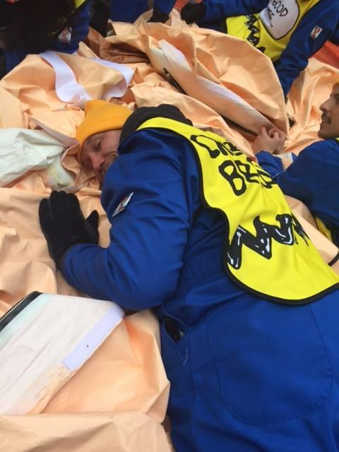 Doug Donaldson of Beacon, N.Y. flew a Charlie Brown balloon in the Macy's Thanksgiving Day Parade in 2016. (Photo: Courtesy of Doug Donaldson)
