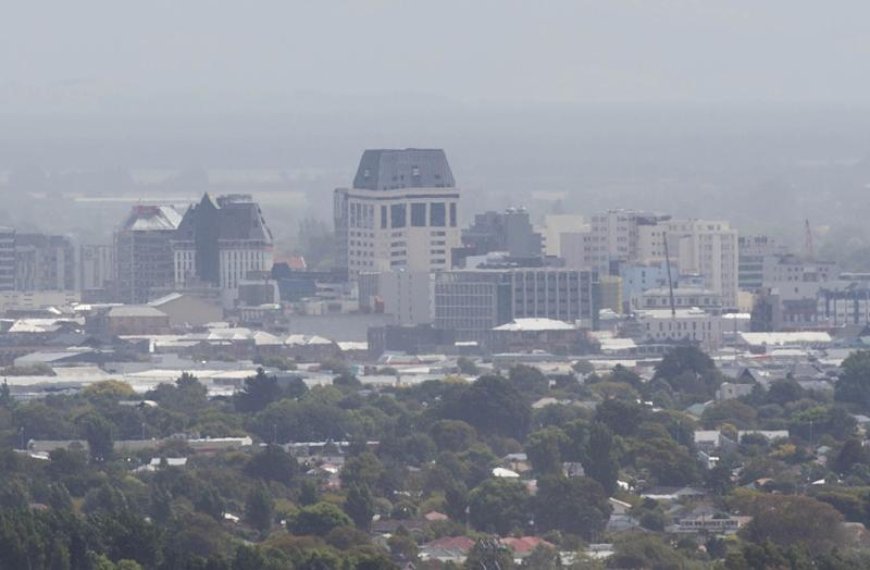 Residents of Christchurch have been evacuated in the face of rare, fierce forest fires