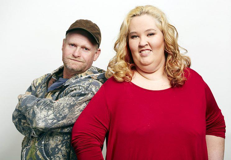 Mama June and Sugar Bear in happier times.