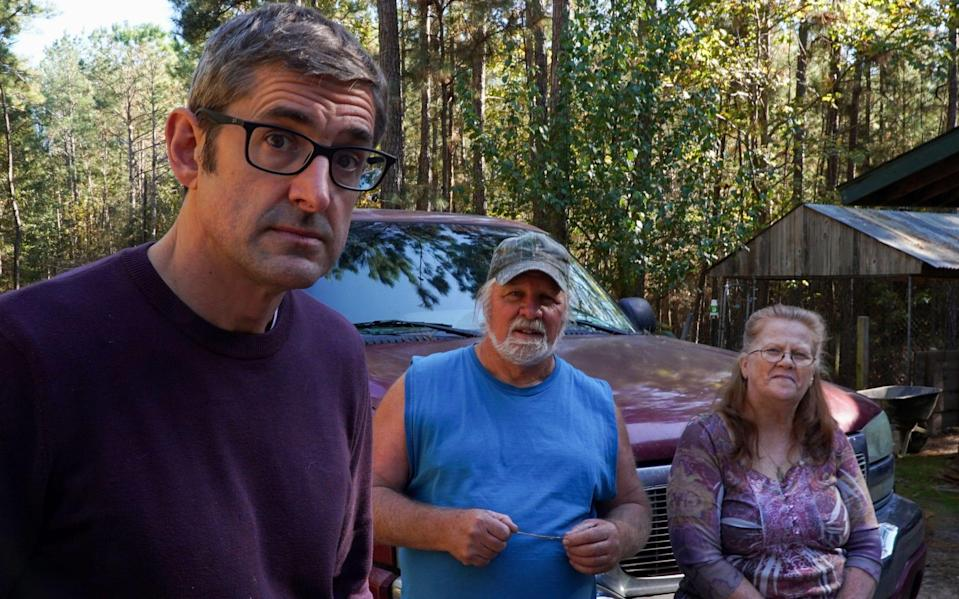 Theroux with Yarri and Wendy - Jack Rampling