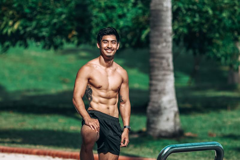 Singapore #Fitspo of the Week: Robin Tiang (PHOTO: Cheryl Tay)