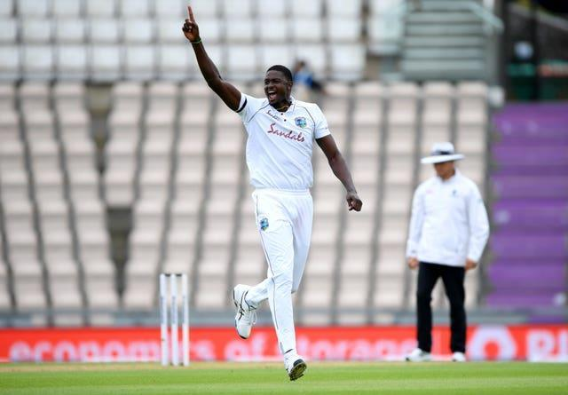 Jason Holder earned widespread praise for leading the West Indies' tour of England in the midst of a global pandemic (Mike Hewitt/NMC Pool/PA)