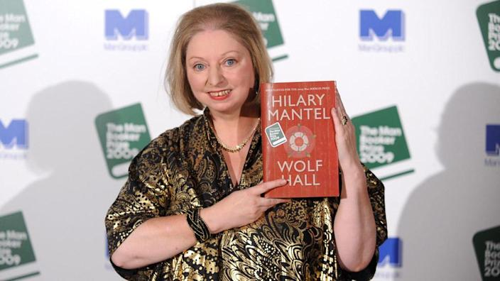 Dame Hilary won the Booker Prize for Wolf Hall in 2009