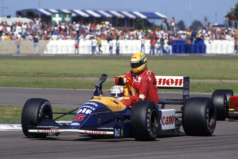 "1991 Nigel Mansell, Williams <span class=""copyright"">Williams </span>"