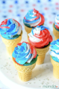 "<p>Can't choose between a cupcake or ice cream cone for this year's <a href=""https://www.goodhousekeeping.com/holidays/g1748/red-white-blue-july-fourth-desserts/"" rel=""nofollow noopener"" target=""_blank"" data-ylk=""slk:holiday dessert"" class=""link rapid-noclick-resp"">holiday dessert</a>? Good news: you can have <em>both</em> in one bite!<br></p><p><a href=""https://www.momdot.com/star-spangled-cupcakes/"" rel=""nofollow noopener"" target=""_blank"" data-ylk=""slk:Get the recipe from MomDot »"" class=""link rapid-noclick-resp""><em>Get the recipe from MomDot »</em></a></p>"