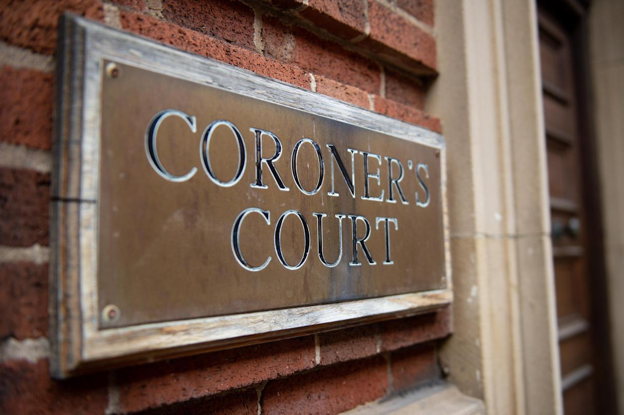 Signage of Birmingham and Solihull Coroner's Court. Picture date: Wednesday March 10, 2021. PA Photo. Photo credit should read: Jacob King/PA Wire