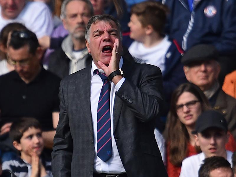 Sam Allardyce was impressed with his players' grit and determination: Getty