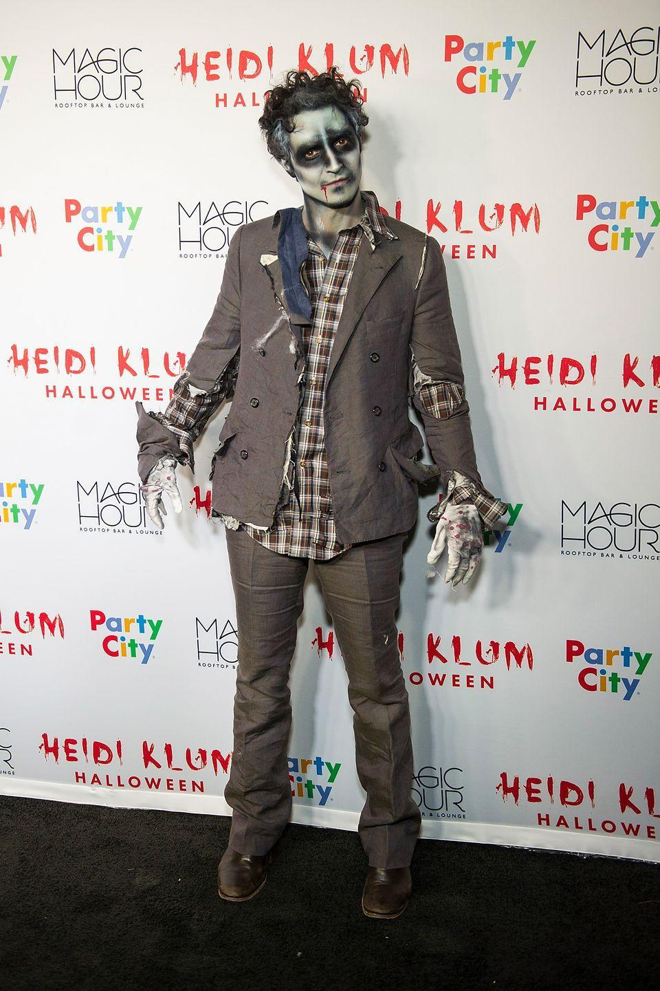 """<p>If you have some clothes you're willing to shred and know someone with a knack for face paint, then you can join the undead for the night. </p><p><a class=""""link rapid-noclick-resp"""" href=""""https://www.amazon.com/Unomor-Halloween-Makeup-Vampire-Zombie/dp/B08B632ZY3?tag=syn-yahoo-20&ascsubtag=%5Bartid%7C10070.g.28171554%5Bsrc%7Cyahoo-us"""" rel=""""nofollow noopener"""" target=""""_blank"""" data-ylk=""""slk:SHOP FACE PAINT KIT"""">SHOP FACE PAINT KIT</a></p>"""