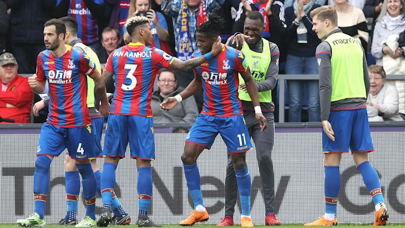 Crystal Palace 3 Brighton and Hove Albion 2: Zaha double helps Eagles to derby delight